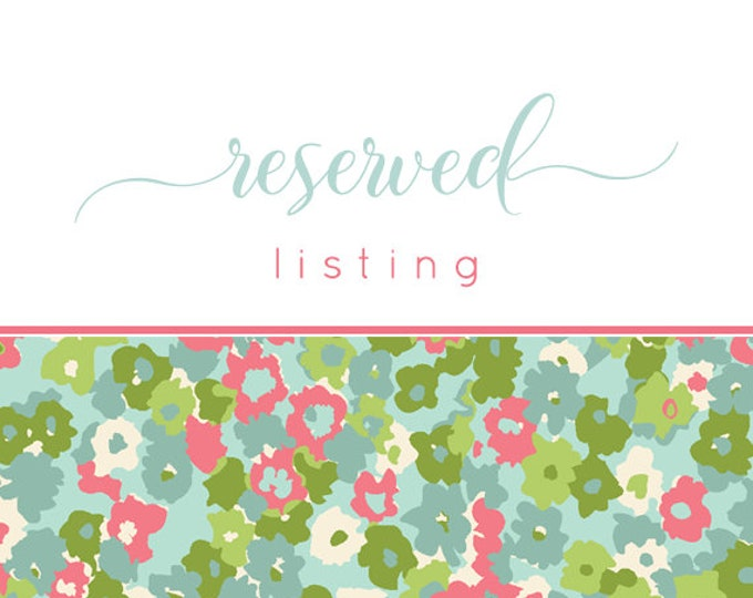 Special Listing  For Lyndsie - Two