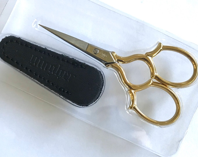 Gingher Embroidery Scissors - Epaulette 3-1/2""