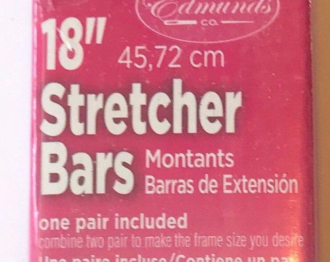 "Needlepoint Stretcher Bars - 18"" Standard Size Stretcher Bars 1 pair"