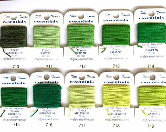 Essentials Threads Colors 710 - 719