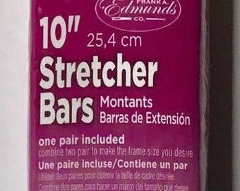 "Needlepoint Stretcher Bars - 10"" Standard Size Stretcher Bars 1 pair"