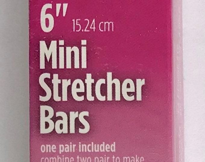 """Needlepoint MINI Stretcher Bars - 6"""" Mini Stretcher Bars"""