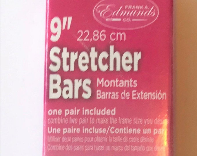 "Needlepoint Stretcher Bars - 9"" Standard Size Stretcher Bars 1 pair"