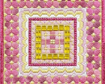 Sparkle! Geometric Needlepoint Design BASIC KIT