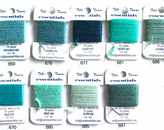 Essentials Threads Colors 669 - 686