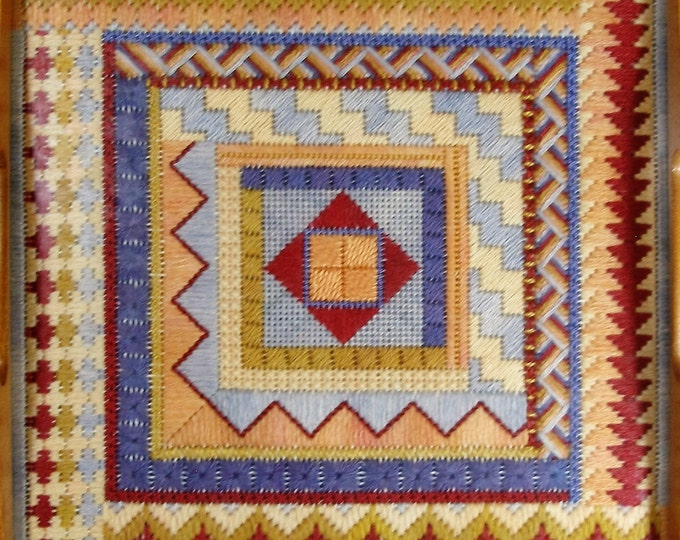 African Sunset Needlepoint Basic Kit