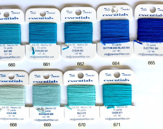 Essentials Threads Colors 660 - 671