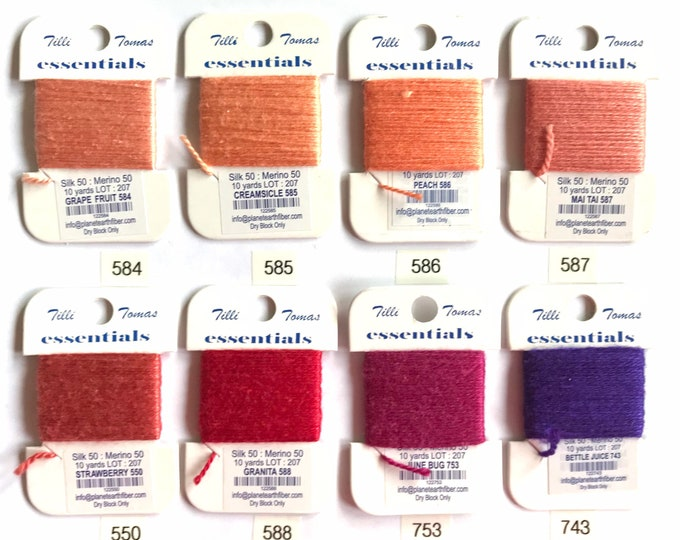 Essentials Threads 550- 753 NEWLY ISSUED ON 10/5/20