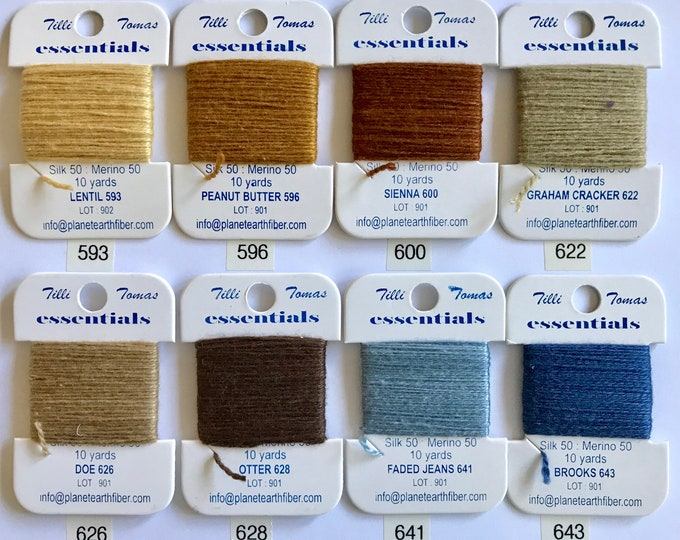 Essentials Threads Colors 593-643
