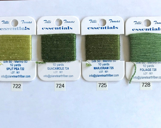 Essentials Threads Colors 722 - 728