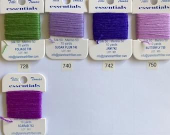 Essentials Threads Colors 728- 752