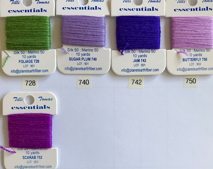 Essentials Threads Colors 728- 752