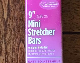 Needlepoint MINI Stretcher Bars - 9 inch Mini Stretcher Bars