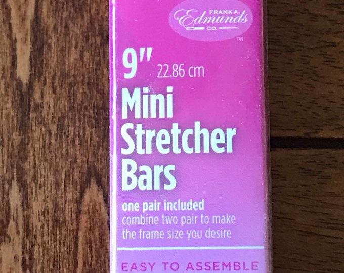 Needlepoint Stretcher Bars - 9 inch Mini Stretcher Bars