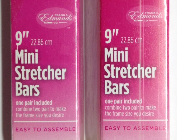 "Needlepoint Stretcher Bars - 9"" Mini Stretcher Bars Set of 2"