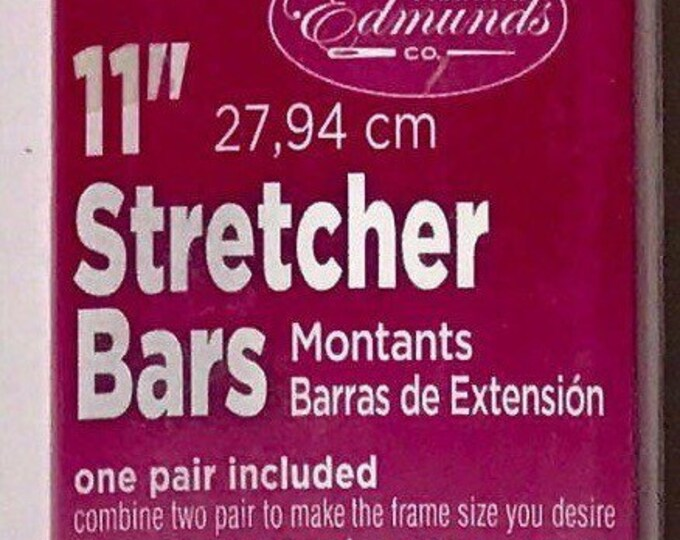 "Needlepoint Stretcher Bars - 11"" Standard Size Stretcher Bars 1 pair"