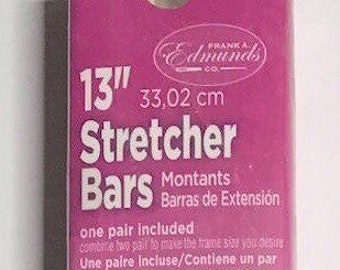 "Needlepoint Stretcher Bars - 13"" Standard Size Stretcher Bars 1 pair"