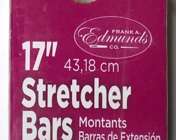 "Needlepoint Stretcher Bars - 17"" Standard Size Stretcher Bars 1 pair"