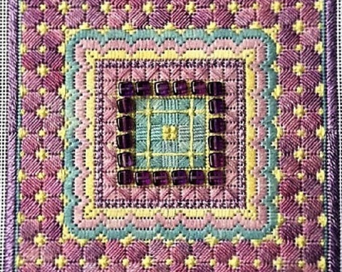 Sparkle 3! Geometric Needlepoint Design Complete Kit