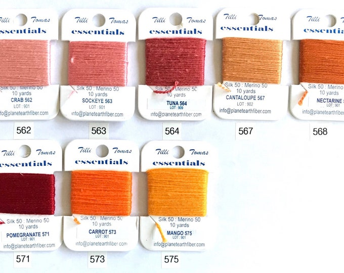 Essentials Threads Colors 562 - 575