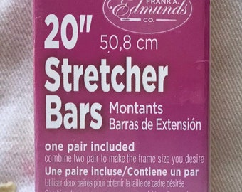 Needlepoint Stretcher Bars - 20 inch Standard Size Stretcher Bars 1 pair