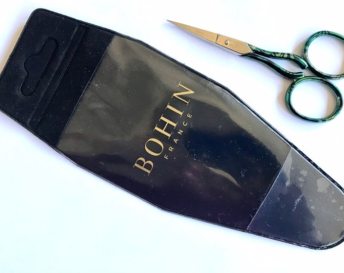 "Bohin 3-1/2"" AQUATIC Embroidery Scissors"