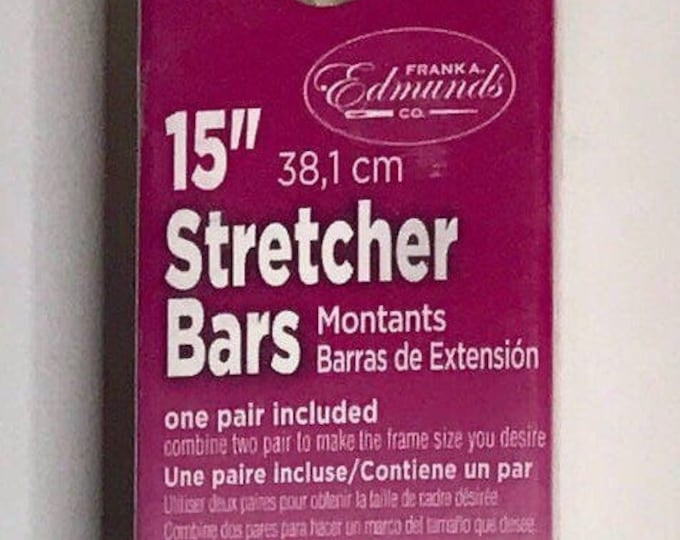 "Needlepoint Stretcher Bars - 15"" Standard Size Stretcher Bars 1 pair"