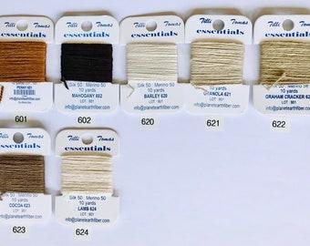 Essentials Threads Colors 601 - 624