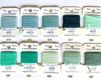 Essentials Threads Colors 674 - 687