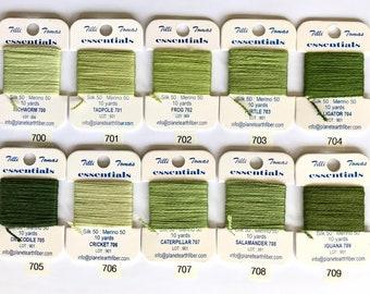 Essentials Thread Colors 700 - 709