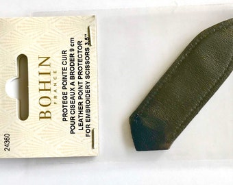 """Leather Point Protector for 3.5"""" Embroidery Scissors"""