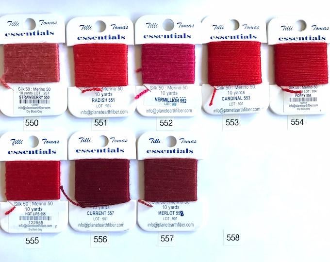 Essentials Threads 550 -  558