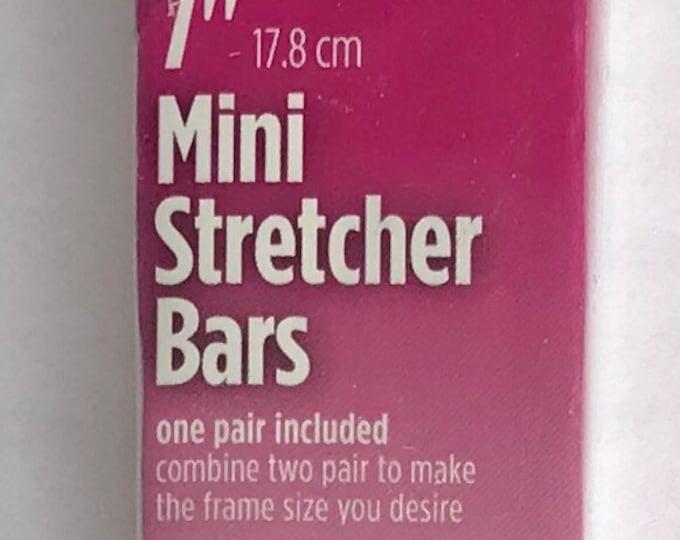 """Needlepoint MINI Stretcher Bars - 7"""" Mini Stretcher Bars"""