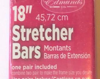"Needlepoint Stretcher Bars - 18"" Standard Size Stretcher Bars 1 pair"