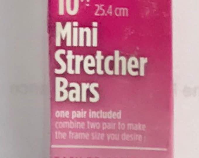 """Needlepoint MINI Stretcher Bars - 10"""" Mini Stretcher Bars"""
