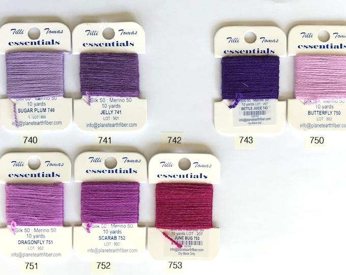 Essentials Threads Colors 740 - 753