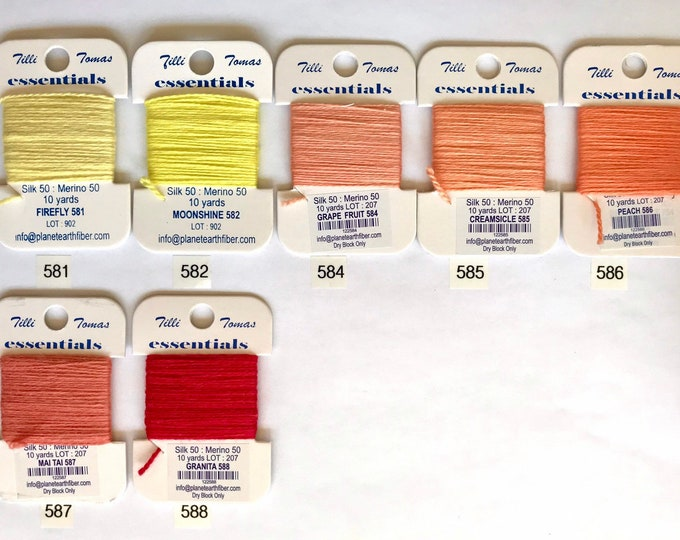Essentials Threads 581 - 588