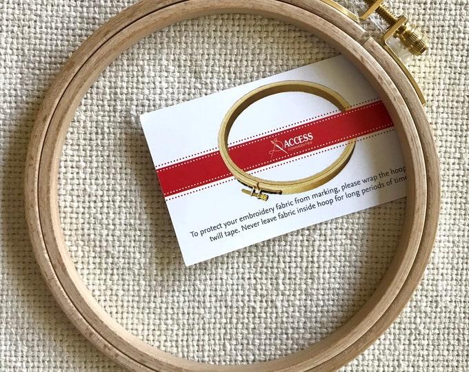 Wood 5 inch Embroidery Hoop