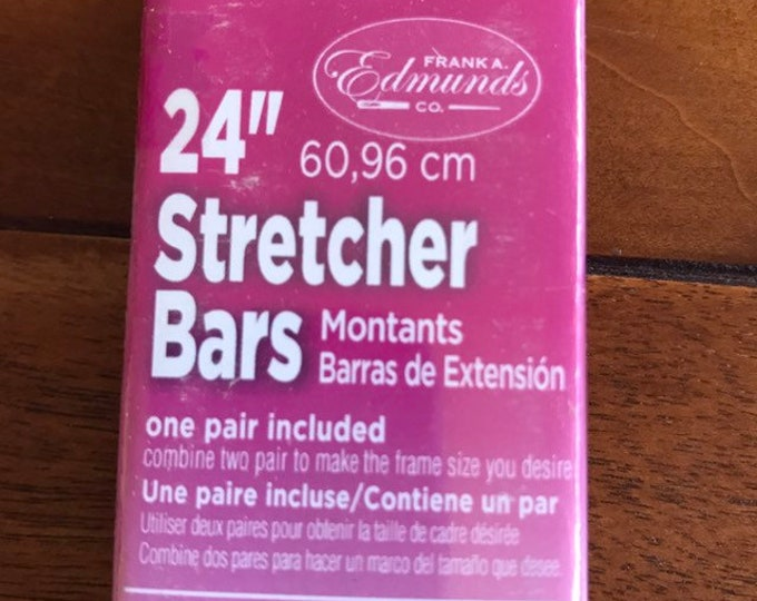 Needlepoint Stretcher Bars - 24 inch Standard Size Stretcher Bars 1 pair