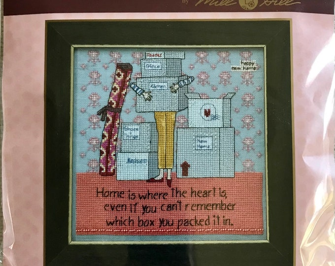 Curly Girl Cross Stitch Complete Kit CG30-1811