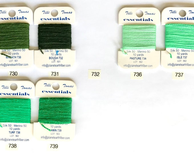 Essentials Thread Colors 730 - 739