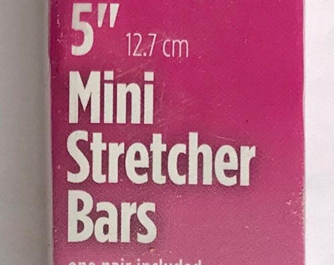 """Needlepoint MINI Stretcher Bars - 5"""" Mini Stretcher Bars"""