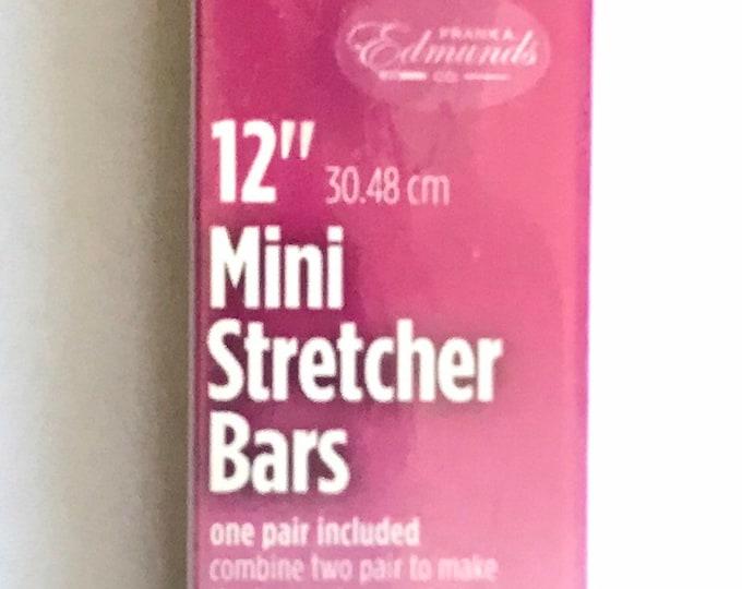 Needlepoint MINI Stretcher Bars - 12 inch Mini Stretcher Bars