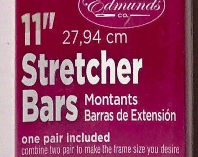 "Needlepoint Stretcher Bars - 11"" Standard Size Stretcher Bars 1 pair"