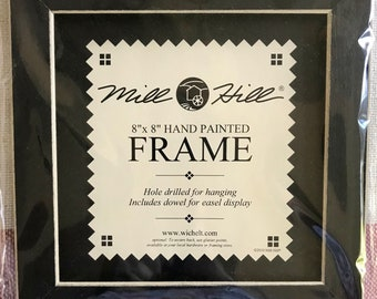"""Mill HILL 8"""" X 8"""" Hand Painted Frame"""