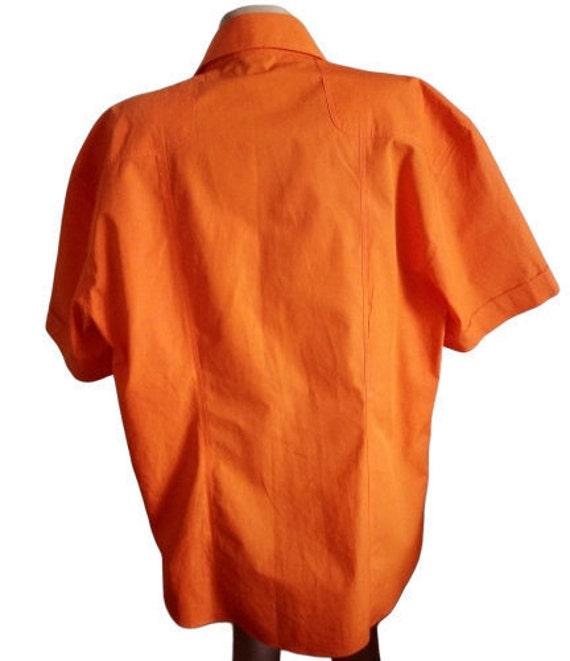Dolce Gabbana mens shirt Button down Summer short… - image 4