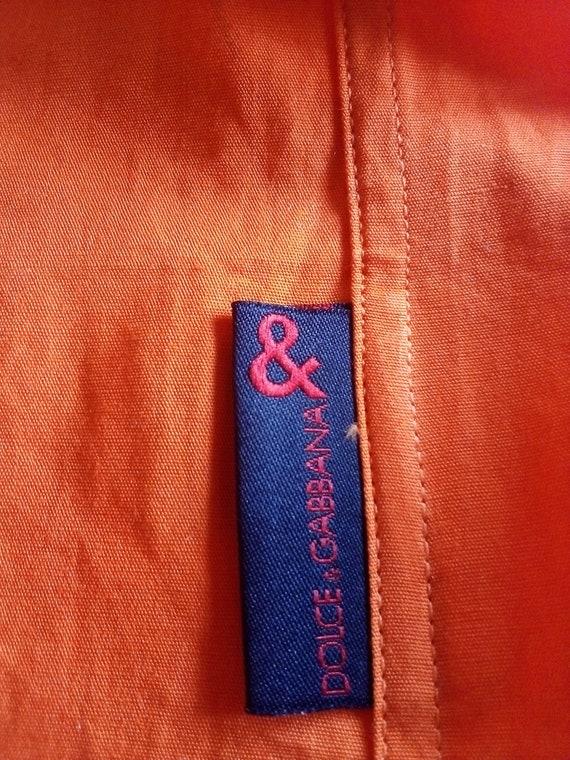 Dolce Gabbana mens shirt Button down Summer short… - image 7