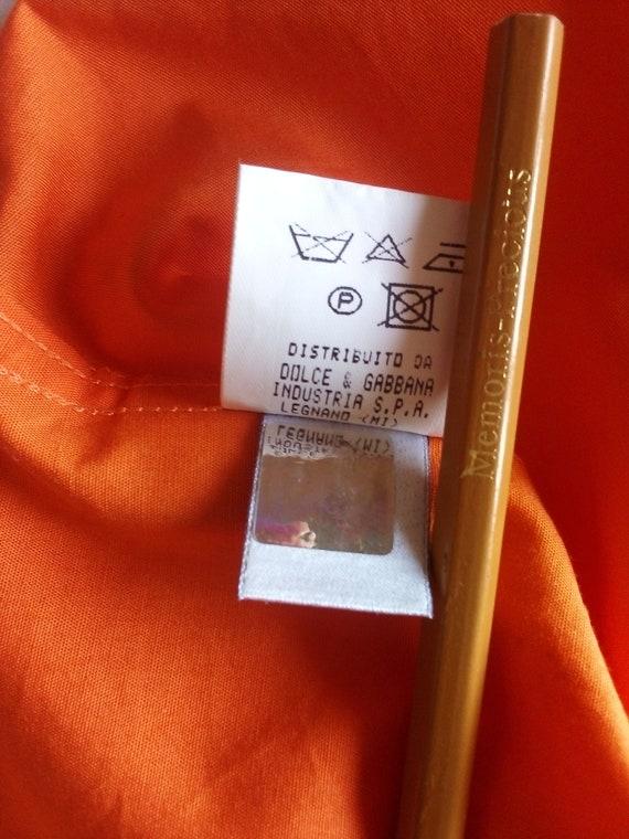 Dolce Gabbana mens shirt Button down Summer short… - image 10
