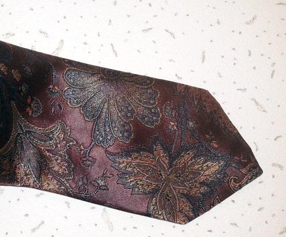 Flores del vintage corbata flores rosa lila exóticos lazo boda novio lazo boda lazo partido corbata Dandy corbata corbata SOVRANO hecha en Gran