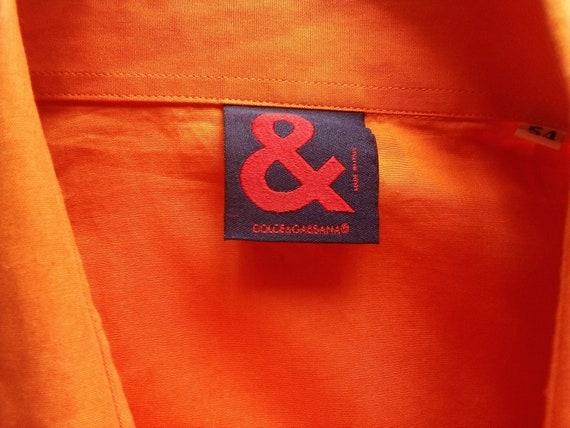 Dolce Gabbana mens shirt Button down Summer short… - image 6